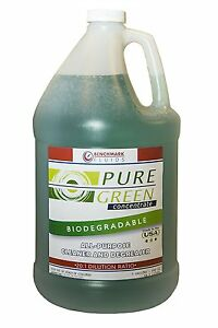 BENCHMARK FLUIDS  PURE GREEN  MULTI-USE CLEANER &  DEGREASER  4  (1)  GAL JUGS