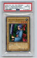 2002 Yu-Gi-Oh! Tournament Pack 2 Beautiful Headhuntress TP2-011 PSA 10 GEM MINT