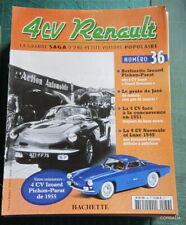 FASCICULE HACHETTE 4CV RENAULT N° 36 ~ 4 CV IZOARD PICHON-PARAT DE 1955