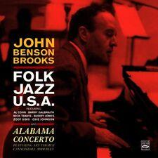 John Benson Brooks - Folk Jazz, U.S.A. / Alabama Concerto / Fresh Sound CD