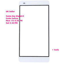 Huawei Honor 7 Front Outer Glass Touch Screen Display Panel White Lens + tools