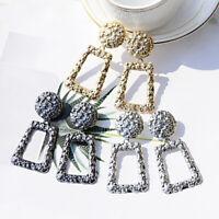 Fashion Statement Metal Geometric Boho Dangle Earrings Modern Jewelry For Women