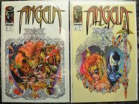 LOT of (2) ANGELA (SPAWN) #1, 2 (1994 | Image Comics) NM+ (9.6-9.8)
