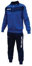 Givova Visa Tuta da ginnastica Uomo Multicolore (azzurro Cielo/ Blu) M