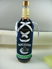 Captain Morgan Vancouver Canucks bottle cover fits 750ml bottle not included