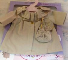 """Corolle ~ Coat and Bag Set Fits 14""""  Toddler Doll Mademoiselle Corolle NEW"""