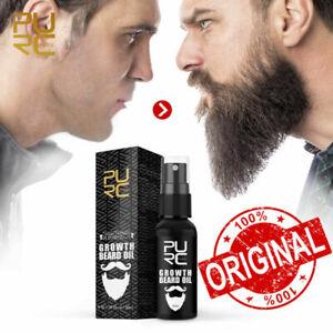 PURC Growth Beard Oil Grow Beard thicker & more full thicken Hair Beard Oil Big