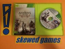 Assassins Creed The Americas Collection - XBox 360 Microsoft COMPLETE