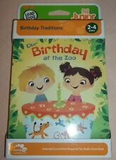 LeapFrog Tag Junior Book: Our Birthday at the Zoo New
