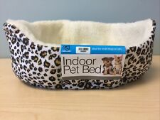 Indoor Pet Bed, Leopard Print