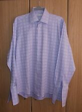 MENS ASDA GEORGE COLLECTION LONG-SLEEVED FORMAL SHIRT -DOUBLE CUFFS - BRAND NEW
