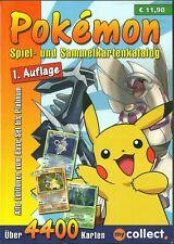 Pokemon Spiel- und Sammelkarten Katalog