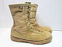 DANNER FT LEWIS LIGHT TAN LEATHER GORE-TEX MILITARY WORK BOOTS MENS sz 16  USA