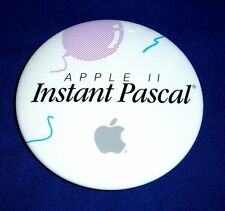 Apple II Instant Pascal Lapel Badge