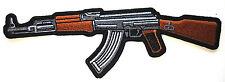 """***AK 47*** """"Pointing Left""""...  Pro Gun Biker Patch P3418 E"""