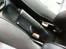 Se adapta a Seat Ibiza Cordoba Freno De Mano De Cuero Gaitor 1993-1999 Negro Stitch
