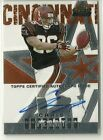 2004 Topps Finest Chris Perry Auto Autograph Rookie Card RC Serial #ed. / 399