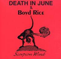 Death in June & Boyd Rice - Scorpion Wind [New CD]