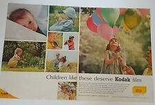 Vintage 1964 Ads 2 Page Spread Kodak or Campbell's Soup on Reverse
