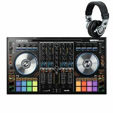 Reloop MIXON 4 w/ FREE HEADPHONES. Serato DJ & DJAY Pro 4 Channel DJ Controller