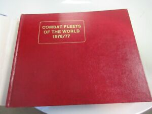 COMBAT FLEETS OF THE WORLD 1976/77: Ships, Aircraft,HARDCOVER ~ Jean L. Couhat