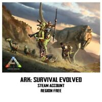 ARK: Survival Evolved PC [Steam acoount] EU/UK/USA/CHINE/ROW
