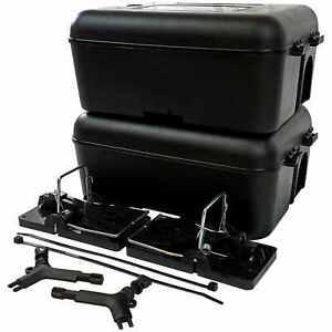 Roshield 2 x Rat Snap Trap & External Protector Box - No Poison Control