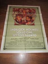 SHERLOCK HOLMES:SOLUZIONE 7 PERCENTO,REDGRAVE,MANIFESTO
