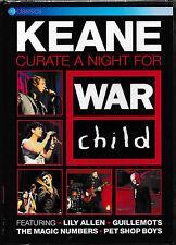 Keane-curate a night for War Child-DVD-NUOVO + SIGILLATO/SEALED!