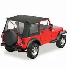 Jeep CJ CJ7 Wrangler YJ Supertop Softtop Verdeck Black Crush Bestop 76-95