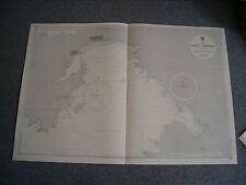 Vintage Admiralty Chart 3041 USSR - ZALIV AMERIKA (NAKHODKA) 1967 edn
