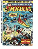 Invaders (Marvel 1st Series) #1 1975 Nice Copy Free Ship