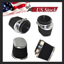 Black Performance Oval Pod Filter 54mm For Honda CB/CM400/450 CX/GL500/650 CB650