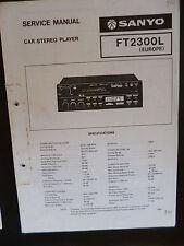 Service Manual sanyo car estéreo Player ft2300l