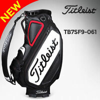 Titleist Unisex Tour Staff Golf Caddie Bag Black TB7SF9-061 Carry Cart Caddy n_o