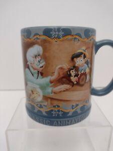 Disney Store Pinocchio Geppetto Classic Animation Ceramic Coffee Mug 12 oz