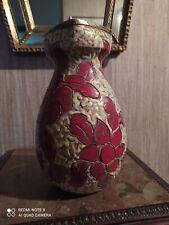 Vase à Décor Floral signé Raymond Camart Circa 1953