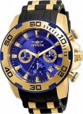 Invicta Pro Diver 50mm Chronograph Blue Dial 100m Men's Watch 22313