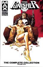 PUNISHER MAX: COMPLETE COLLECTION VOL #5 TPB Garth Ennis Marvel Comics TP 504 PG