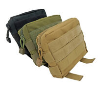 Tactical Outdoor Backpack Shoulder Strap Belt Pouch Molle Hunting Accessories