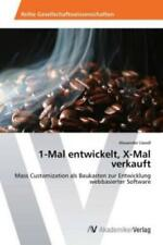 1-Mal entwickelt, X-Mal verkauft Mass Customization als Baukasten zur Entwi 2400