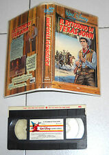 Vhs IL RITORNO DI TEXAS JOHN Walt Disney di Harry Keller Western Far West