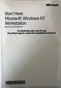 Microsoft Windows NT 4.0 Workstation - Englisch - NEUWARE
