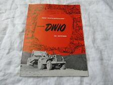 Caterpillar CAT DW10 tractor brochure