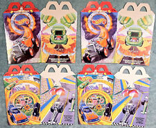 1996 McDonald's Happy Meal -  HOT WHEELS  -  4 Original Boxes  -  NEVER OPENED!