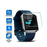 Genuine TEMPERED GLASS Screen Protector For Fitbit BLAZE - Fitness Smart Watch