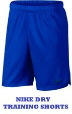 "NIKE MENS DRY TRAINING SHORTS BLUE SIZE XXXXL 9"" INSEAM 897155-405 THIN KNIT"