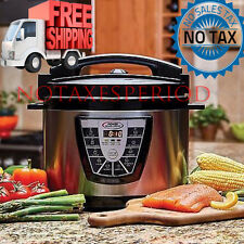 NO TAX! Power Pressure Slow Cooker XL Pot Canning Quart Crock Kitchen New 10 QT