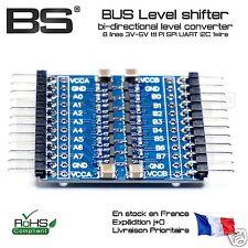 Level shifter 8CH IIC I2C TWI UART SPI 3V3 5V convertisseur de niveau logique