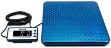 Heavy Duty Postal Shipping Scale Countertop Digital 440lbs Limit Metal Platform